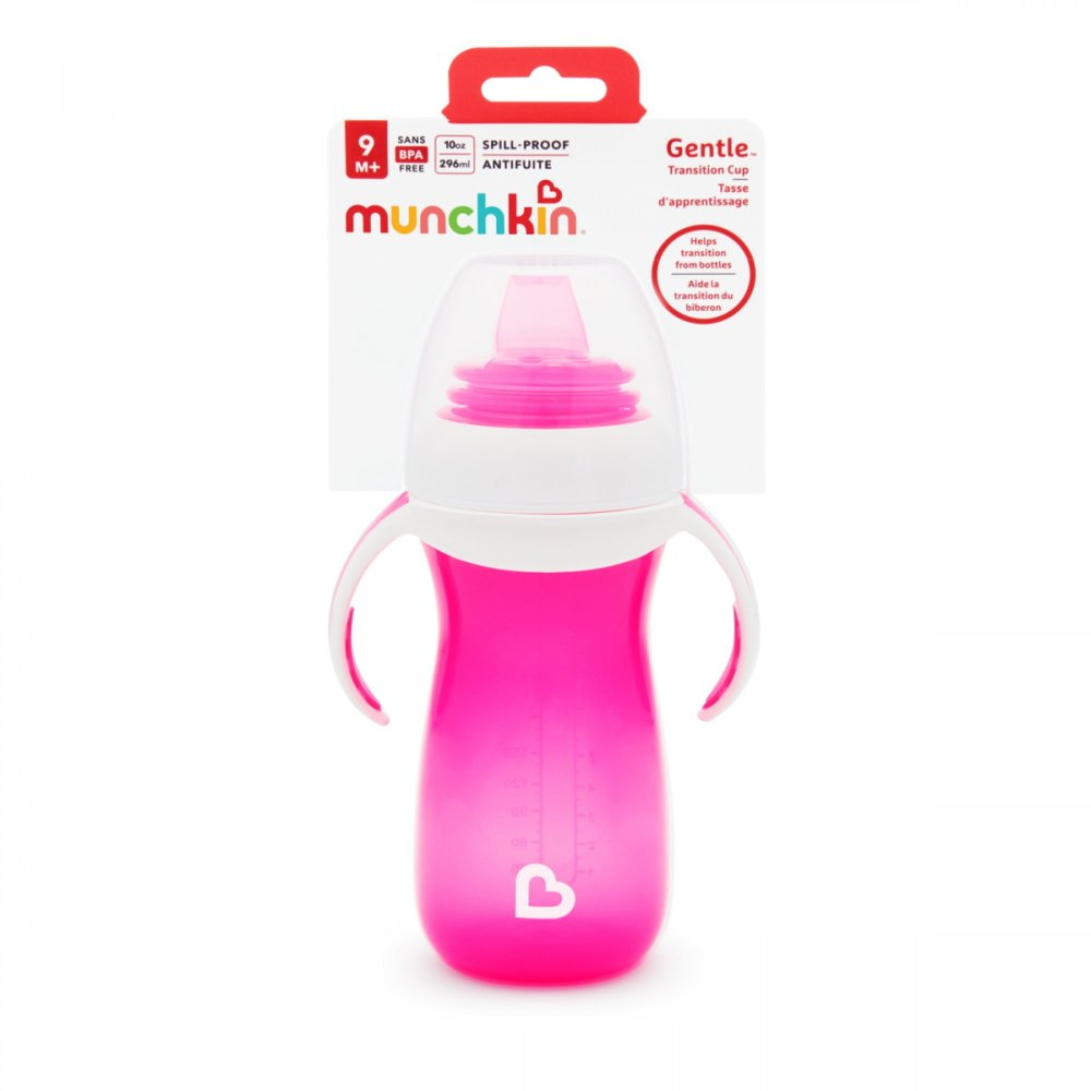 Munchkin Gentle Cup All - 300ml - Pink