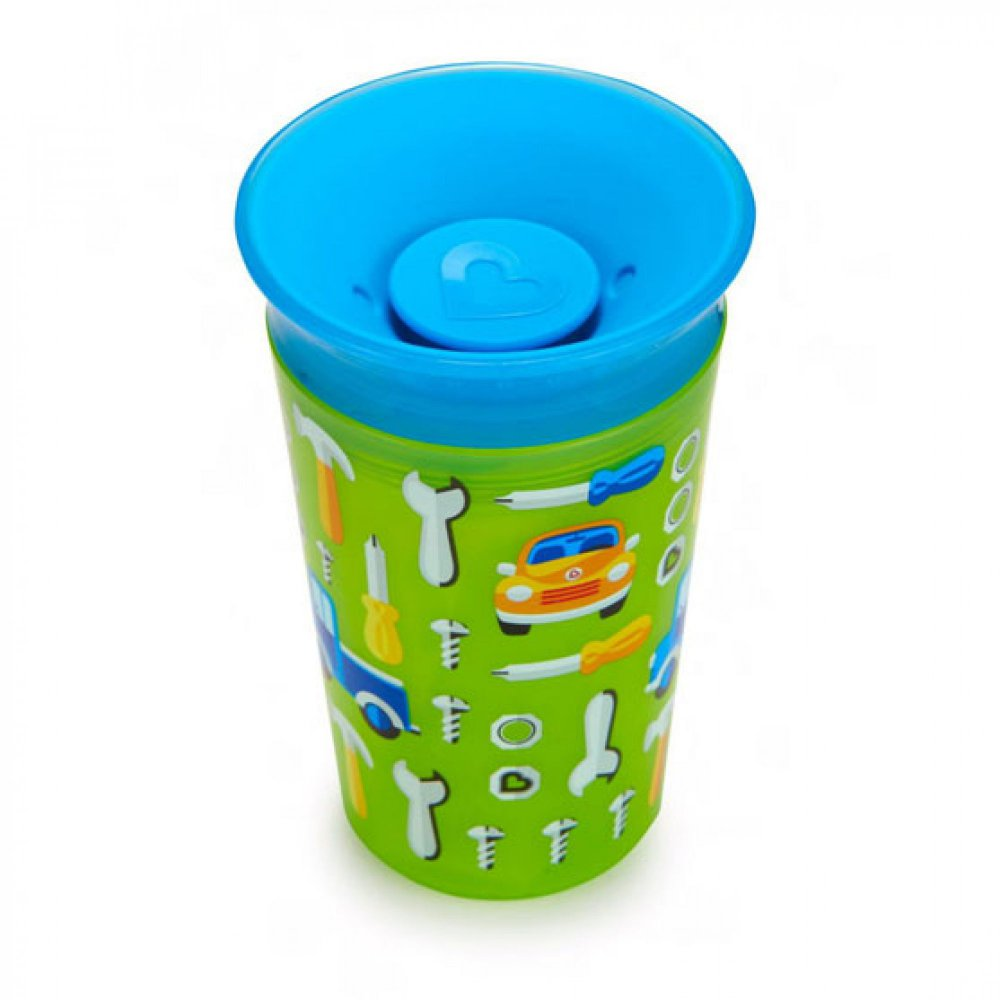 Munchkin Κύπελο Miracle 360° Deco Sippy Cup Green Car
