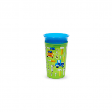 Munchkin Munchkin Κύπελο Miracle 360° Deco Sippy Cup Green Car