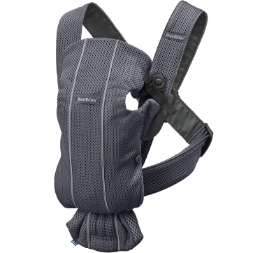 BabyBjörn Babybjorn Μάρσιπος Mini Mesh Anthracite