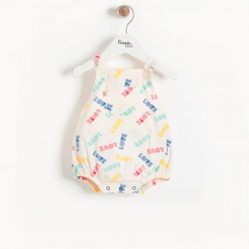 thebonniemob The bonnie mob BAHAMA - Baby Bubble Romper LOVE