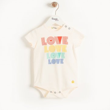 thebonniemob The bonnie mob CABO - Baby Bodysuit LOVE