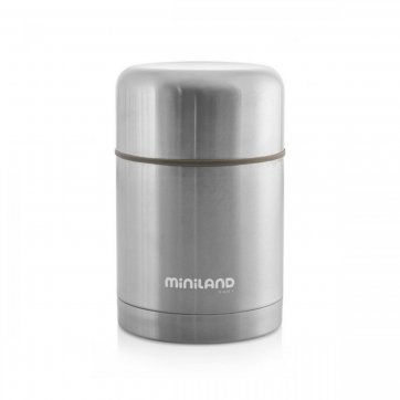 Miniland Baby MINILAND STEEL FOOD THERMOS 600ML